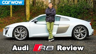 [carwow] Audi R8 V10 review: see how quick it really is...
