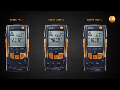 Testo 760 Digital multimeter