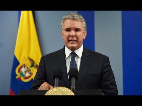 Paro Nacional: Ivan Duque se pronuncio afirmando que este gobierno escucha a la gente