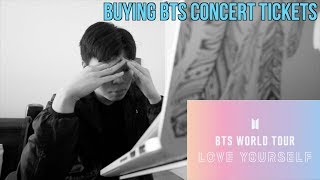 buying BTS concert tickets be like
