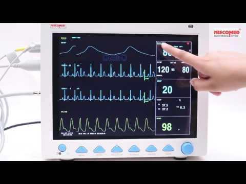 Multi Parameter Patient Monitor (Model No:- CMS 8000)