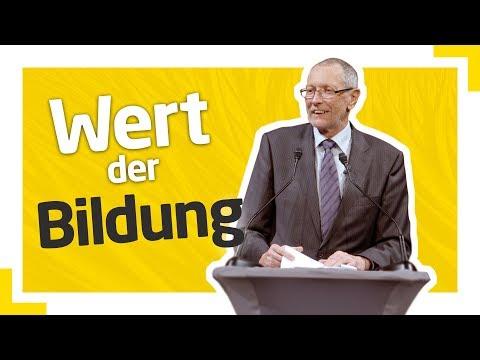 Konrad Paul Liessmann: Der Wert der Bildung
