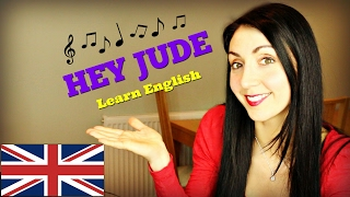 Beatles - Hey Jude: Learn English through Song - YouTube