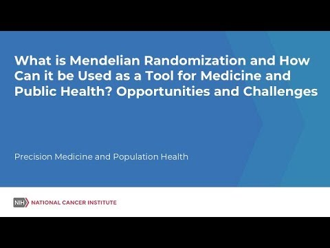 Download What is Mendelian Randomization and How Can it be Used as a Tool for Medicine and Public Health? HD Mp4 3GP Video and MP3
