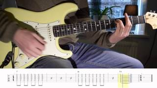 Guitar Tutorial Hold back the river - James Bay