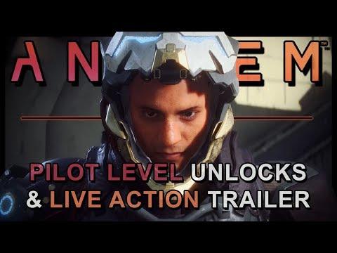 Anthem HUGE NEWS | Pilot unlocks, Live Action Trailer & More