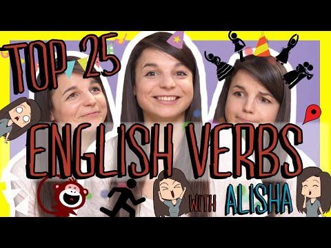 Top 25 Must-Know English Verbs