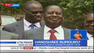 Raila Odinga rubbishes reports of a joint tour to Nyanza of him and President Uhuru Kenyatta