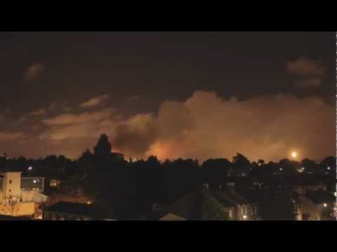 Timelapse Of London Burning During The Riots Is Almost Beautiful