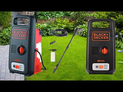 Black+Decker High Pressure Washer BXPW1300E Unboxing Testing
