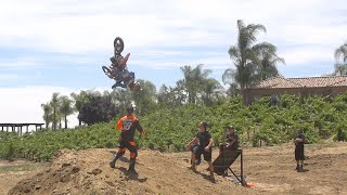 Dangerboy Deegan Backflips To Dirt