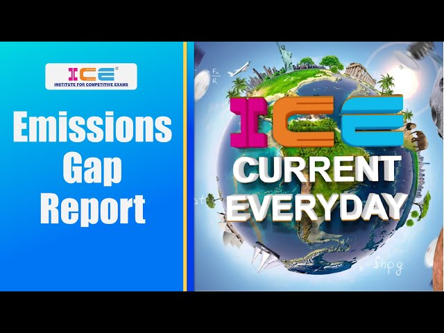 014 # ICE CURRENT EVERYDAY # EMISSIONS GAP REPORT