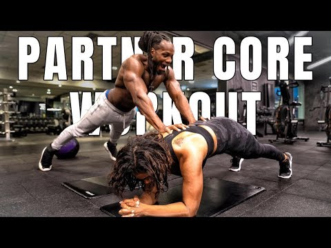 COUPLE CORE WORKOUT - TRY THIS WITH YOUR PARTNER!