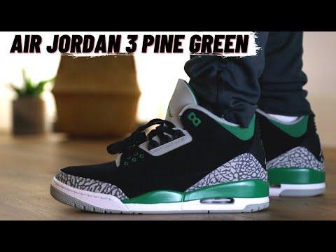 AIR JORDAN 3 RETRO PINE GREEN Review + On Feet
