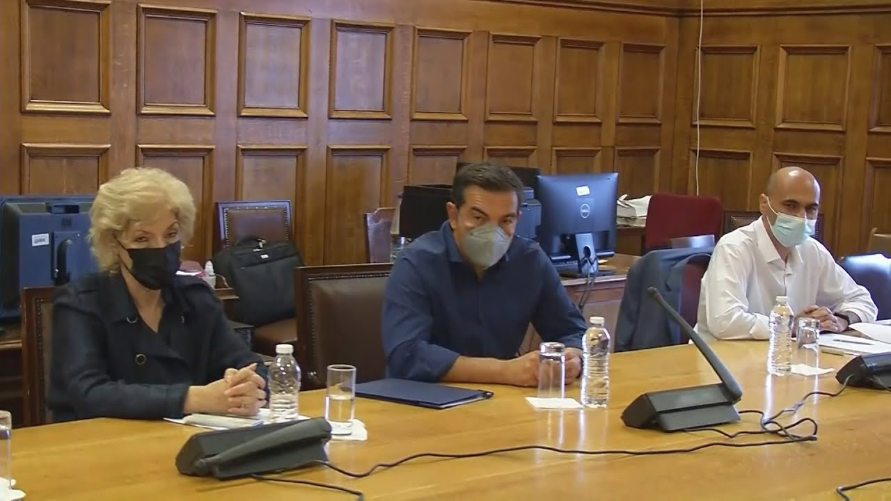 Συνάντηση Τσίπρα με απολυμένους του Ταμείου Αλληλοβοήθειας του υπουργείου Πολιτισμού