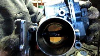 Чистка клапана ЕГР и дроссельной заслонки Пассат Б6/Passat B6, Ауди, Шкода.