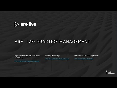 ARE Live: Practice Management Mock Exam - YouTube