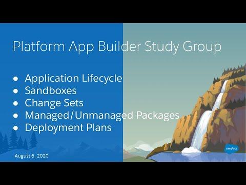 Salesforce Platform App Builder Study Group: App Development ...