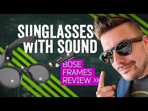 External Review Video pcC5HuEfoe8 for Bose Frames (Alto, Rondo) Audio Augmented Reality Sunglasses