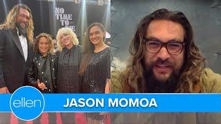 Jason Momoa 'Geeked Out' Over Billie Eilish