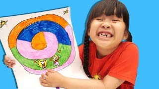 Bé Bún Vẽ Kẹo Mút – Nhìn Bé Bắp Vẽ Kẹo Mút Buồn Cười Quá