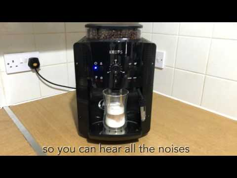 Krups EA8108 Bean to Cup Coffee Machine Review