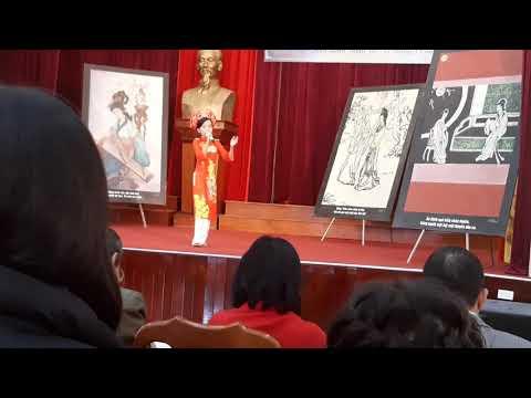 Phần dự thi đọc thuộc truyền Kiều cấp huyện của em Quỳnh Anh lớp 4 B