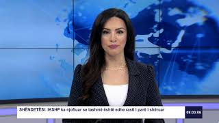 RTK3 Lajmet e orës 08:00 27.03.2020