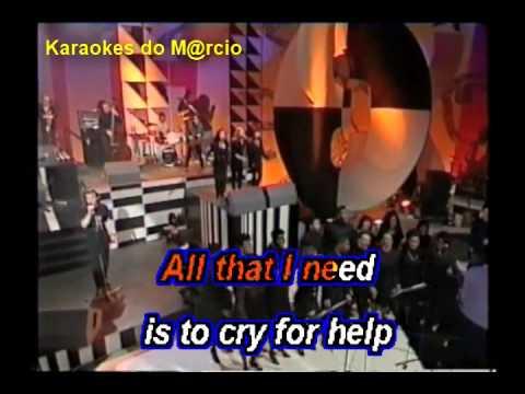 Rick Astley   Cry for help   Karaoke