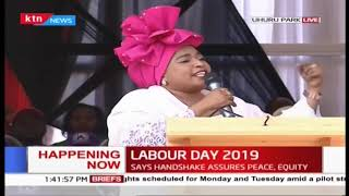 Hon Mishi Mboko's speech during 2019 Labour Day Celebration
