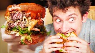 MONSTER Caramelised KIMCHI Burger - Best Burger in London!?