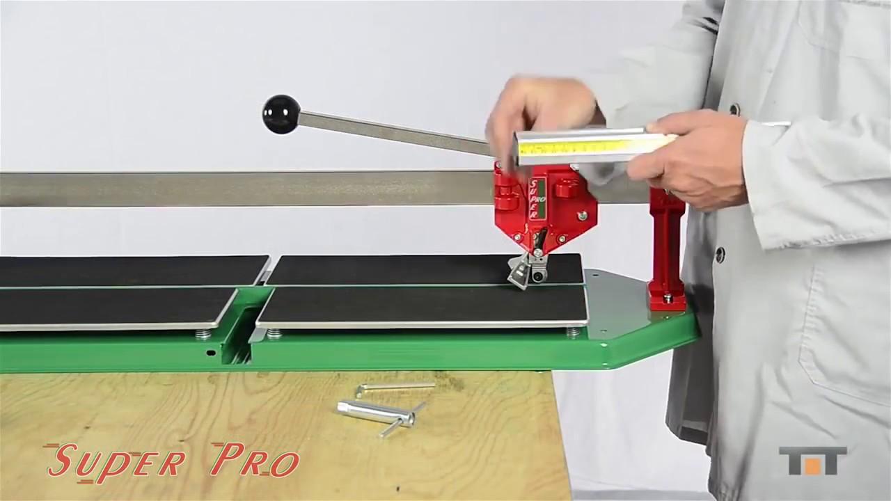 Ручной плиткорез серии Super Pro 900мм