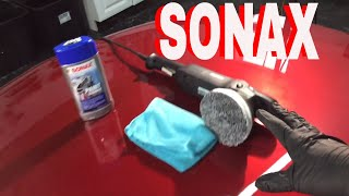 3 in 1 Clean, Polish, Protect!! SONAX HYBRID NPT (Polymer Net Technology)