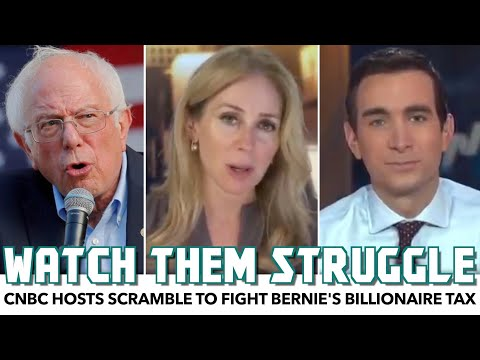 CNBC Hosts Scramble For Argument Against Bernie's Billionaire Tax