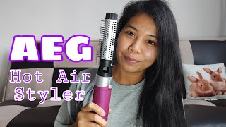 AEG HOT AIR STYLER HAS 5660   First Impression and Review
