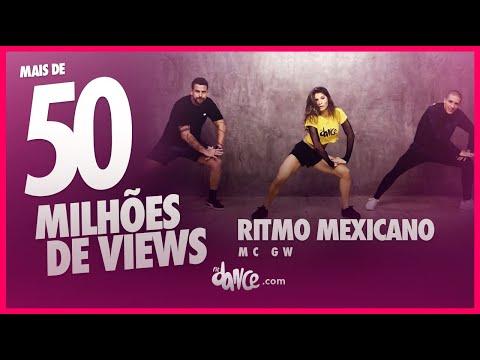 ritmo mexicano mc gw fitdance tv coreografia dance video