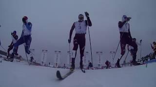 Финал спринт мужчины. Финал Кубка России 2018 по лыжным гонкам.