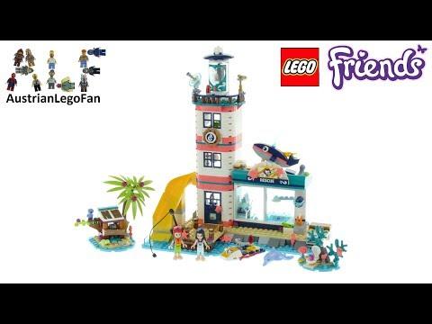 Vidéo LEGO Friends 41380 : Le centre de sauvetage du phare