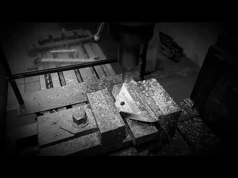 Serbatoio,staffe costruzione,fresatura