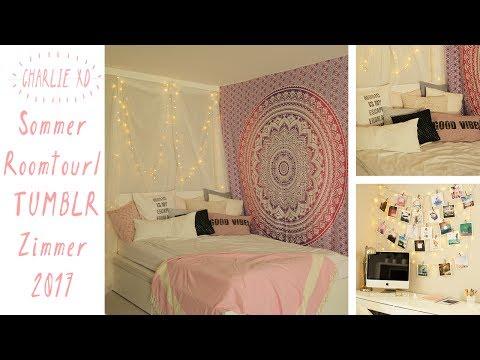 Sommer Roomtour - Tumblr Room 🔆💗