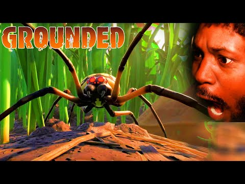 CoryxKenshin: INSECTS HORROR GAME | Grounded Gameplay