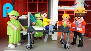 DER UNFALL NACH DEM SCHWIMMBADBESUCH  Notarzt EINSATZ Playmobil Film Deutsch Geschichte