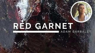 Red Garnet - The Crystal Of The Warrior