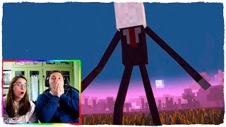 ¡LA VENGANZA DE SLENDERMAN EN MINECRAFT! - ANIMACIÓN ESCUELA DE MONSTRUOS (VIDEO REACCIÓN)