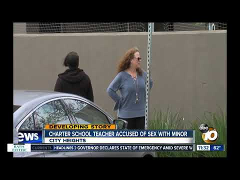 Charter school teacher accused of sex with minor