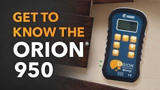 Orion 950: Get to Know the Moisture Meter