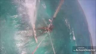 preview picture of video 'Première école  kitesurf en Haïti môle Saint-Nicolas Boukan Guinguette 2019'