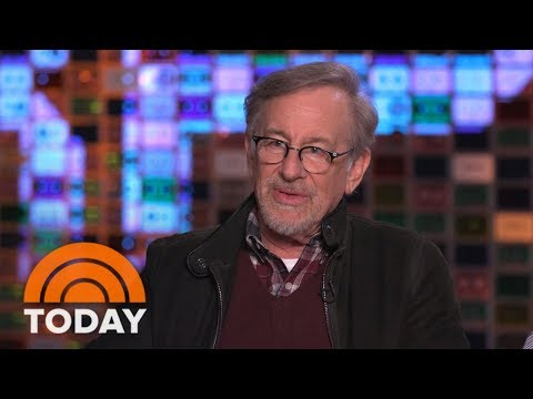 Steven Spielberg Talks About His Latest Film 'Ready Player One' | TODAY