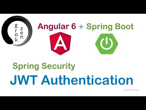 spring boot jwt authentication