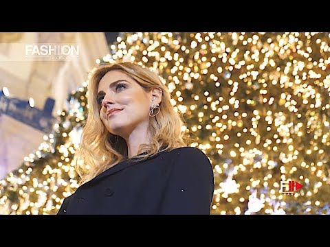 CHIARA FERRAGNI for SWAROVSKI Christmas 2017 Milan - Fashion Channel